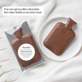 Cosy Christmas Bed Socks with Chocolate Hot Water Bottle