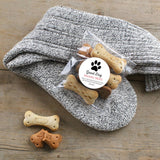Dog Walking Gift Socks with Dog Treats & Chocolate Dog