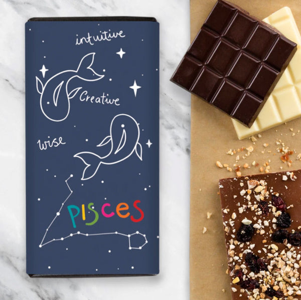 Birthday Zodiac Chocolate - Pisces