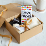 Thinking of You Luxury Socks & Chocolate Gift Box