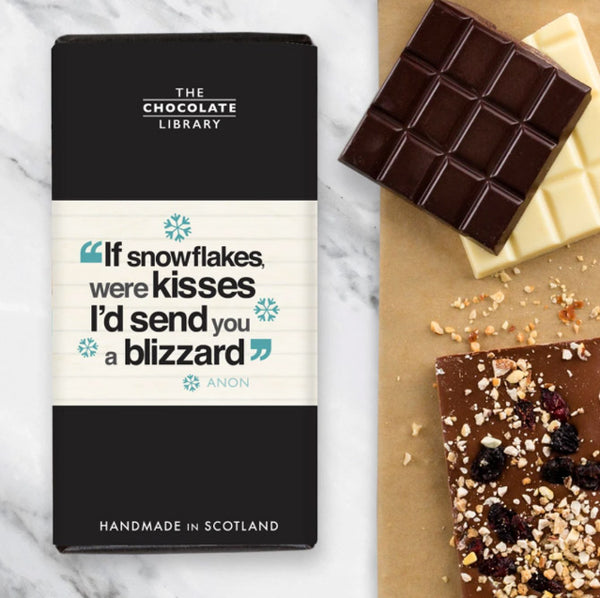 If Snowflakes Were Kisses Chocolate