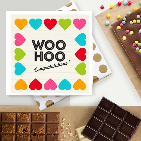 Woo Hoo! Chocolate Card