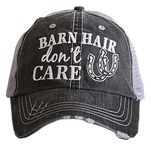 Barn Hair Dont Care Hat - Gray Silver
