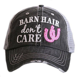 Barn Hair Dont Care Hat - Pink