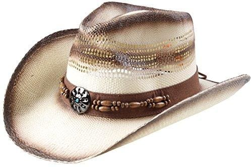 Classic Straw Hat With Wide Brim