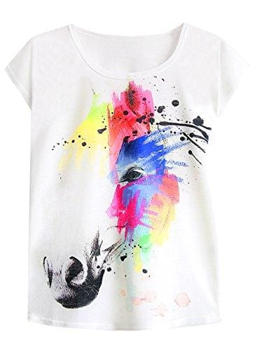 Dream Mysterious Horse T-Shirt - Small / Multicolored
