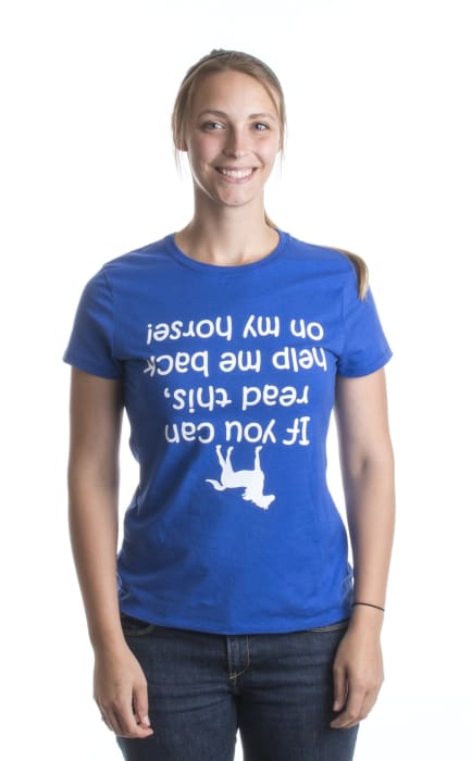 If You Can Read This Help Me Back On My Horse! T-Shirt