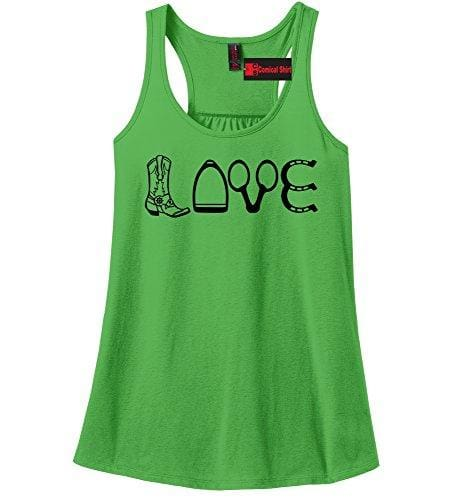 Love Tank - X-Small / Apple Green