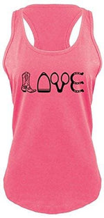 Love Tank - X-Small / Hot Pink