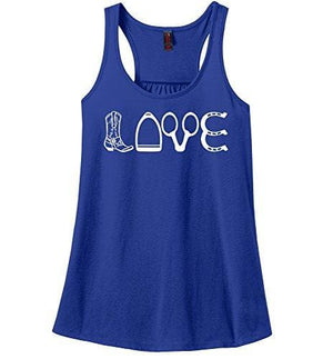 Love Tank - X-Small / Royal Blue