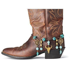 Southwest Decorative Boot Bracelet