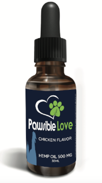 500mg Pawsible Love drops