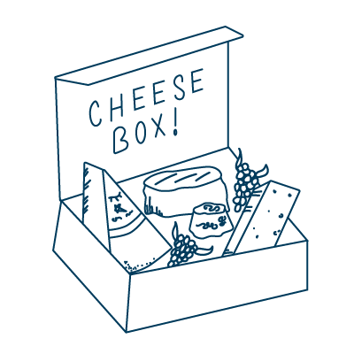 Corporate Cheese & Wine Boxes