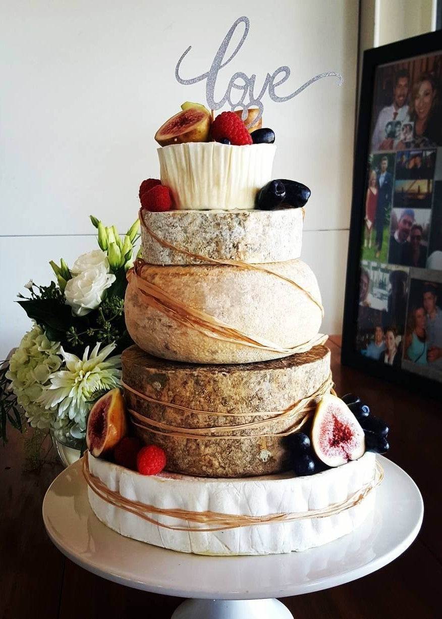 Cheese On Wheels Wedding Tower Pc2
