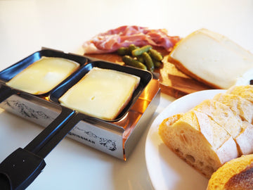 French Raclette Cheese with Machine Hire