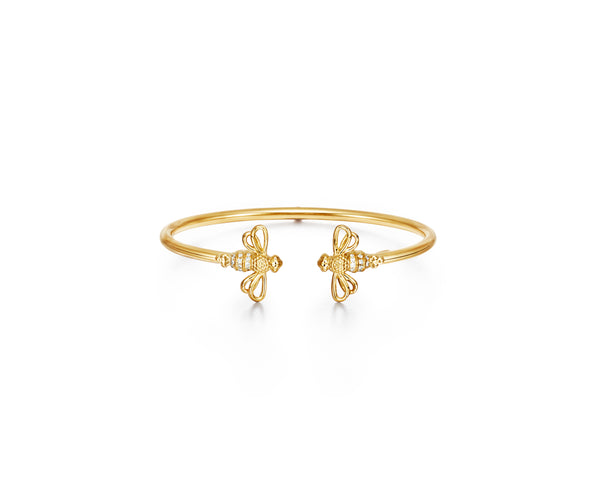 18K Bee Bellina Bangle