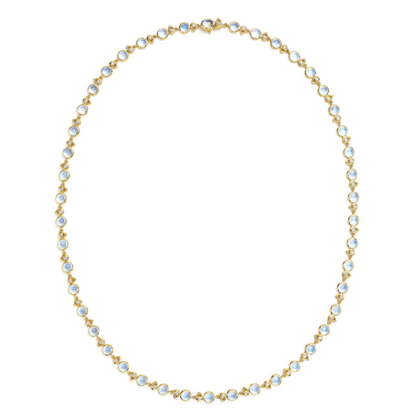 18K Moon River Necklace