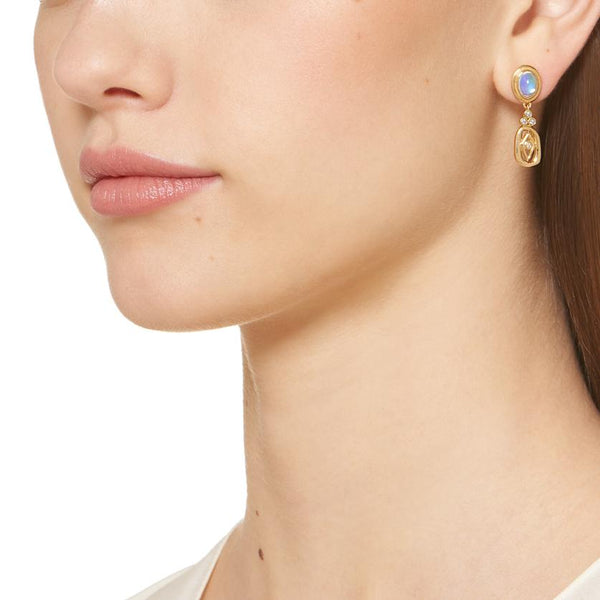 18K River Drop Earrings