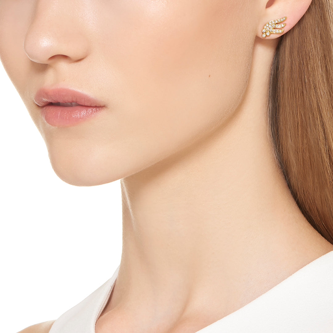 18K Wing Earrings