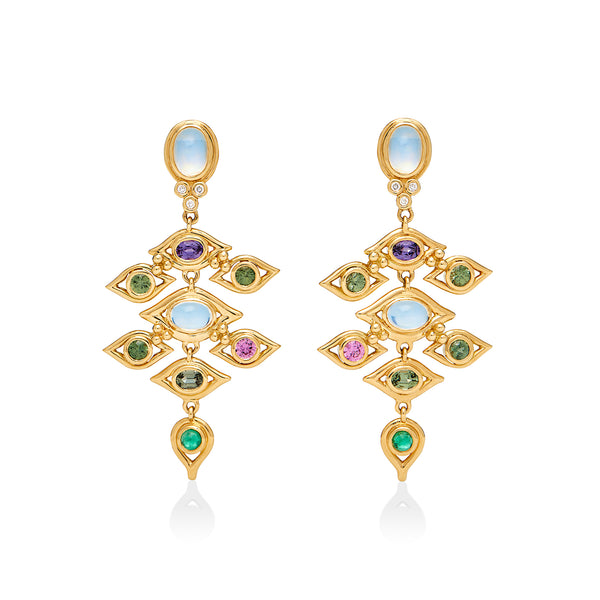 18K Campo de' Fiori Earrings