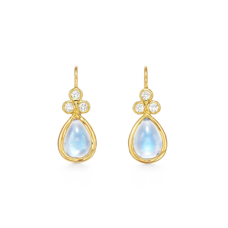18K Classic Pear Drop Earrings