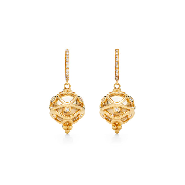 18K Theodora Amulet Earrings