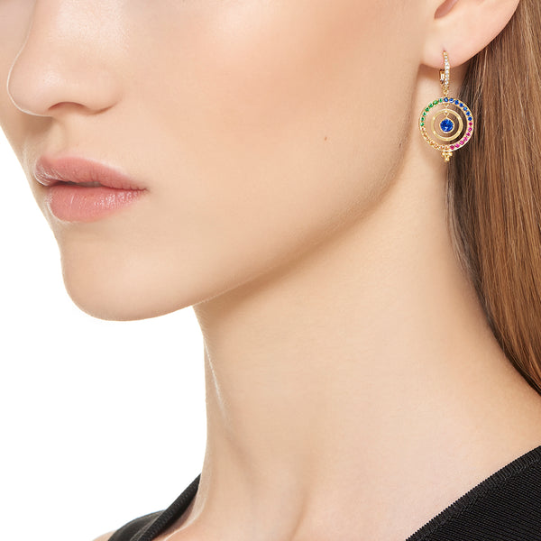 18K Piccolo Tolomeo Earrings