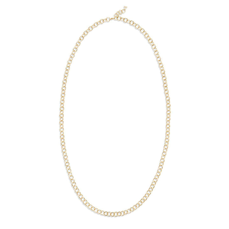 18K Small Beehive Chain