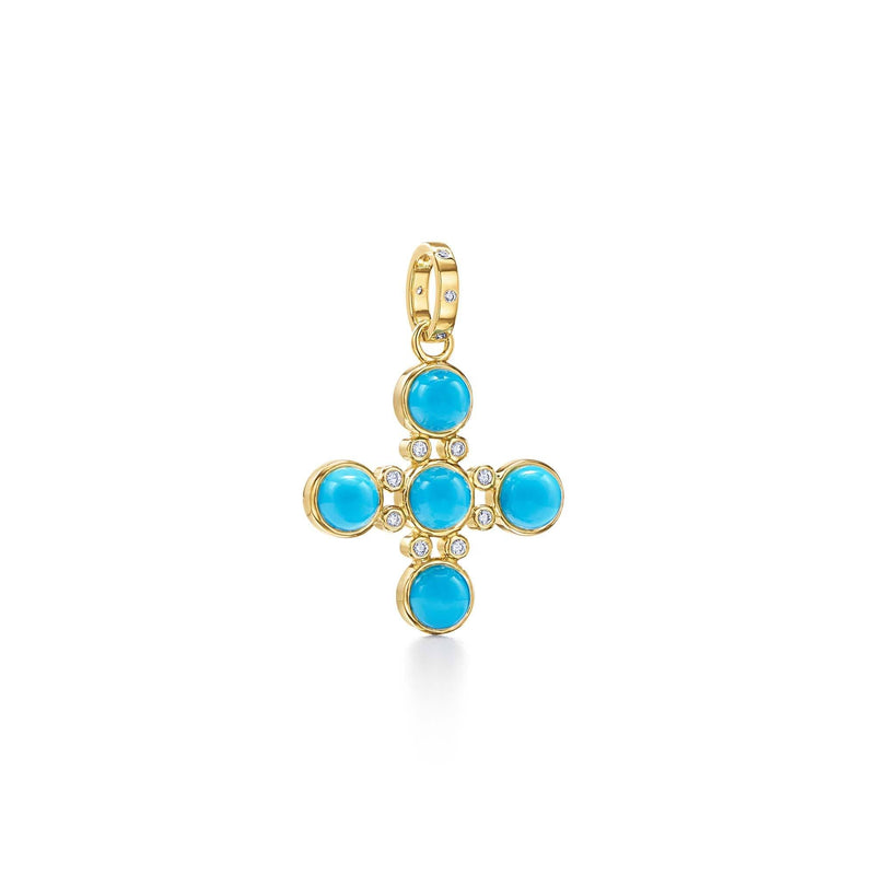 18K Four Elements Cross