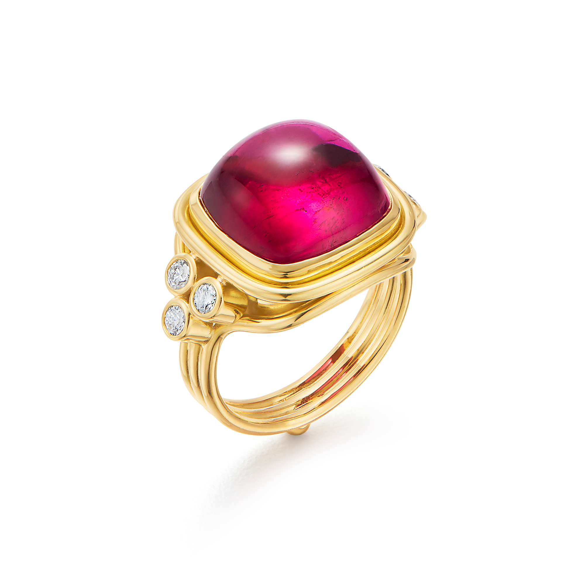 18K Classic Sugar Loaf Ring