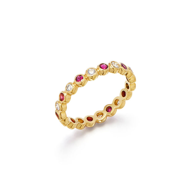18K Eternity Ring