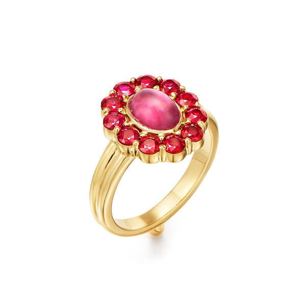 18K Color Theory Red Ring
