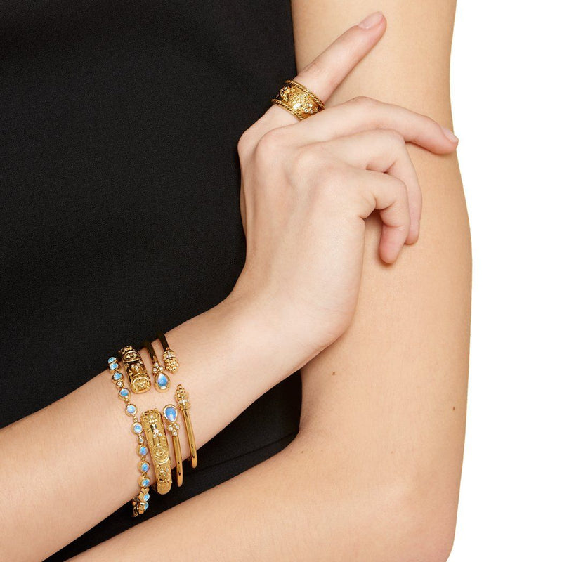 18K Nomad Bella Bangle