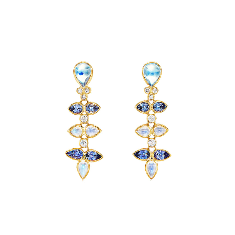18K Vigna Drop Earrings