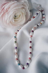 Aya pearl necklace