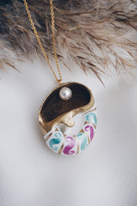 Candy chain sea snail neklace