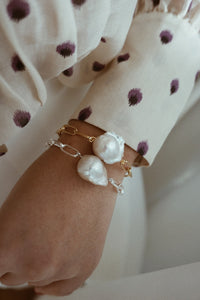Baroque chain bracelet