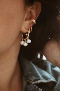 Nina ear cuff earrings
