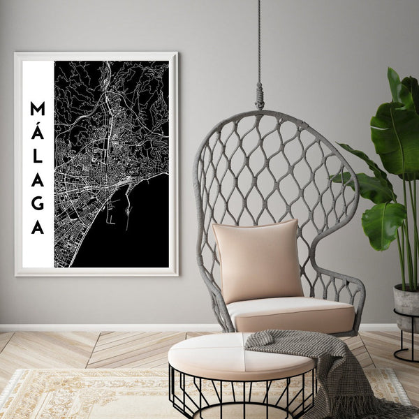Personalized Maps, canvas