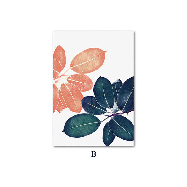 Botanical Leaves, canvas