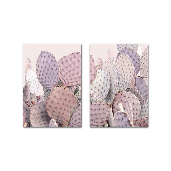 Scandinavian Pink Cactus, canvas