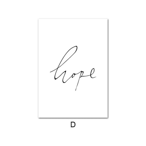 Hope, canvas
