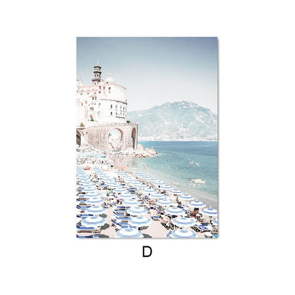 Amalfi Coast, canvas