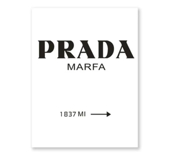 Prada Fashion, canvas