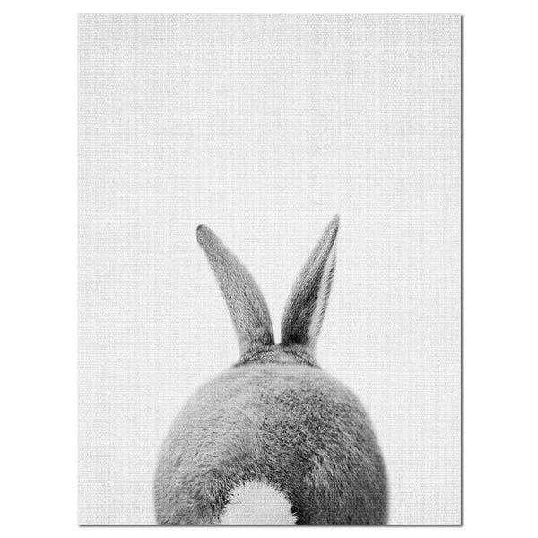 Rabbit, canvas