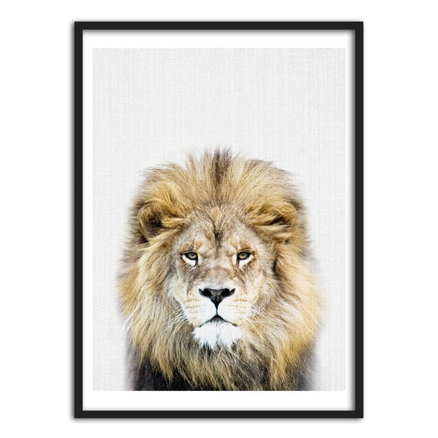 Kings of the Jungle, canvas