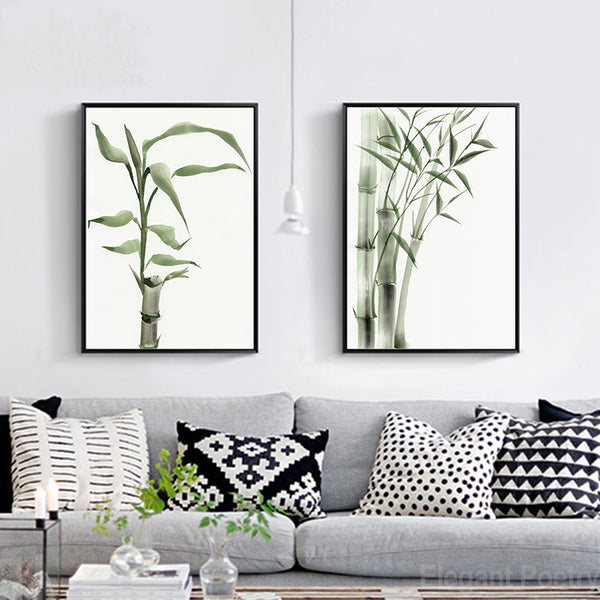 Bamboo, canvas