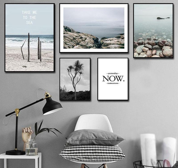 Pebble Beach, canvas