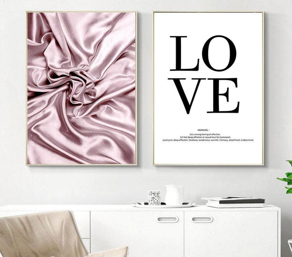 Silky Love, canvas