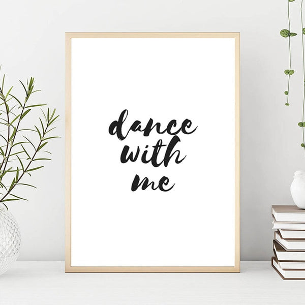 Dance with me, canvas